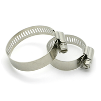 High quality heavy duty adjustable stainless steel hose clamps
