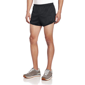 Wholesale Shiny Mens 100% Nylon Shorts Solid Color Ranger Panty Running Shorts