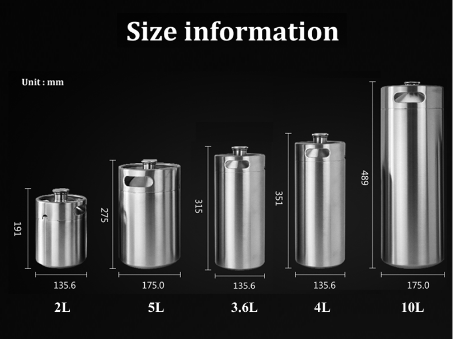 product-Trano-Wholesale New Style Latest Design refill 5l mini keg 5 liters Stainless beer kegs-img-1