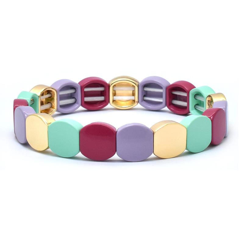 4pcs//set Creative Women Tir Flèche Love Heart Crystal Bracelet