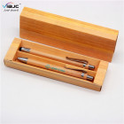Corporate Gift Eco Promotion 2020 New Year Best Corporate Box Gift Sets Custom ECO Bamboo Pen With Box Logo