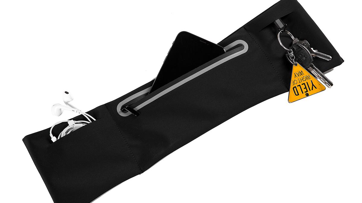 花蓮ホット販売スポーツライトウエストバッグ拡張を実行しているベルトを実行するためのコンサート