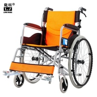 Small Size Health Care Folding Portable Lightweight Manual Medical Wheelchair for Elderly