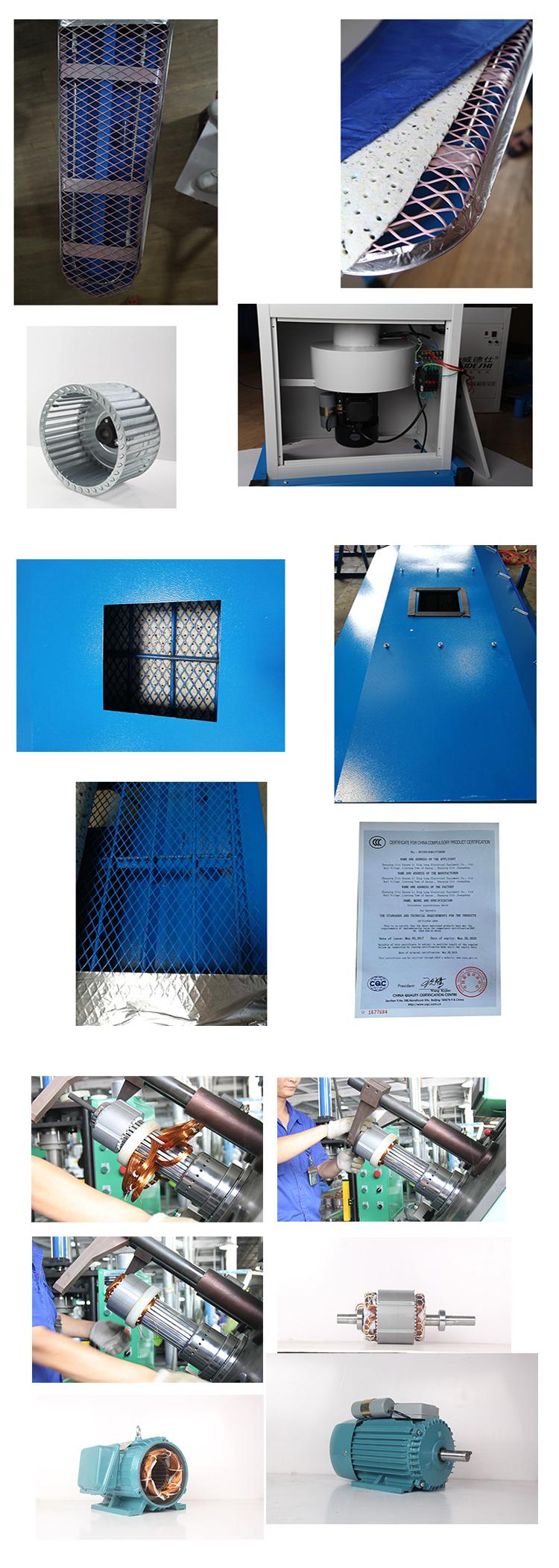 Fabriek wasserij apparatuur multi functie vacuüm stoom strijken tafel
