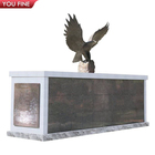 Tombstone Stone Stone Tombstone Customized Tombstone Mausoleum Granite Marble Eagle Tombstone Stone