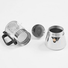 Coffee Maker Espresso Makers Pyrex Glass Eco-friendly FDA Certification Moka Pot Coffee Maker Glass And Stainless Steel Espresso Moka Pot Coffee Makers