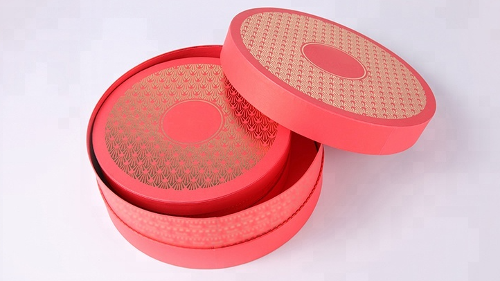 Hot stamping portable marble lid and base bouquets lip gloss gift packaging box with ribbon closure