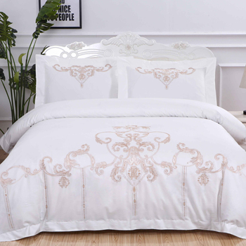professional bedding supplier american bed sheet set satin with matching curtains