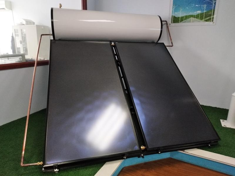 300L Flat Solar Water Heater System Price  For Home Use