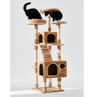 Large Cat Furniture Stylish Multi-Level Play House Climber Activity Centre Tower Stand Product Cat Tree