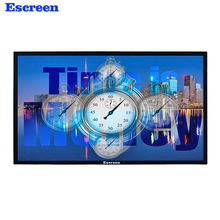 Wall mount lcd commercial digital photo video กรอบ android โฆษณา monitor
