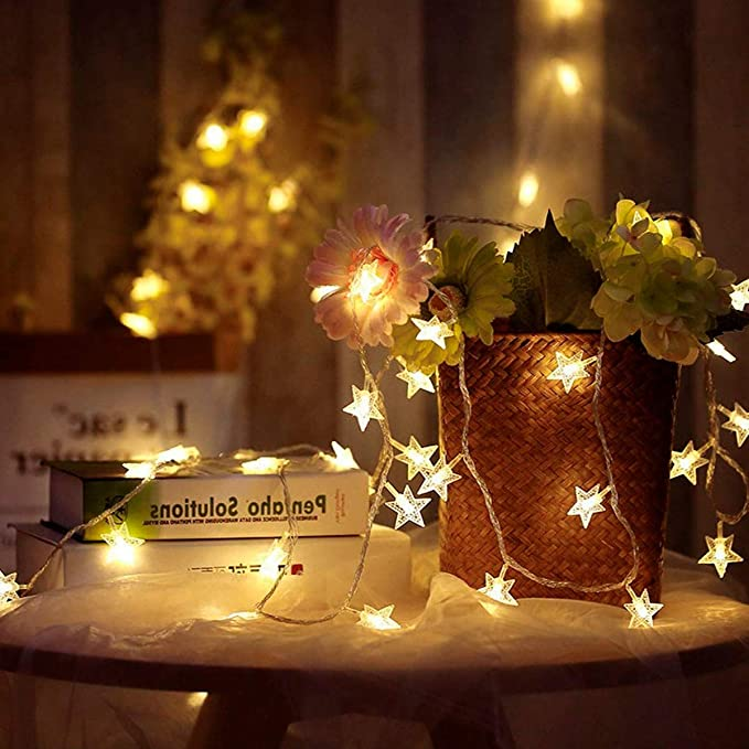 3M Ramadan Fairy Indoor Outdoor Wedding Decoration Twinkle Star String Led Christmas Lights