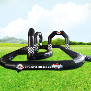 commercial inflatable go kart race track For Sale