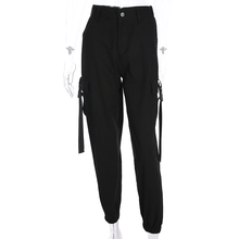 <strong>Women</strong> Casual Joggers High Waist Female <strong>Trousers</strong> Streetwear Cargo <strong>Pants</strong>