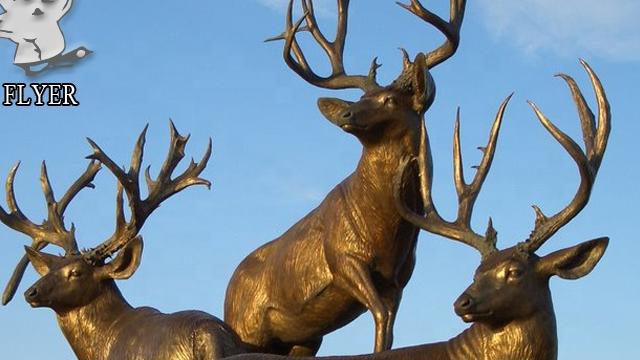 Modern sanat heykeli Decorave döküm içi boş bronz at başı heykel satılık