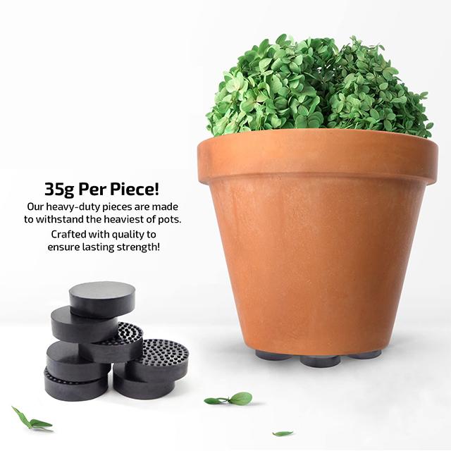 RUBBER PLANT POT FEET 12 pack EPDM QUALITY