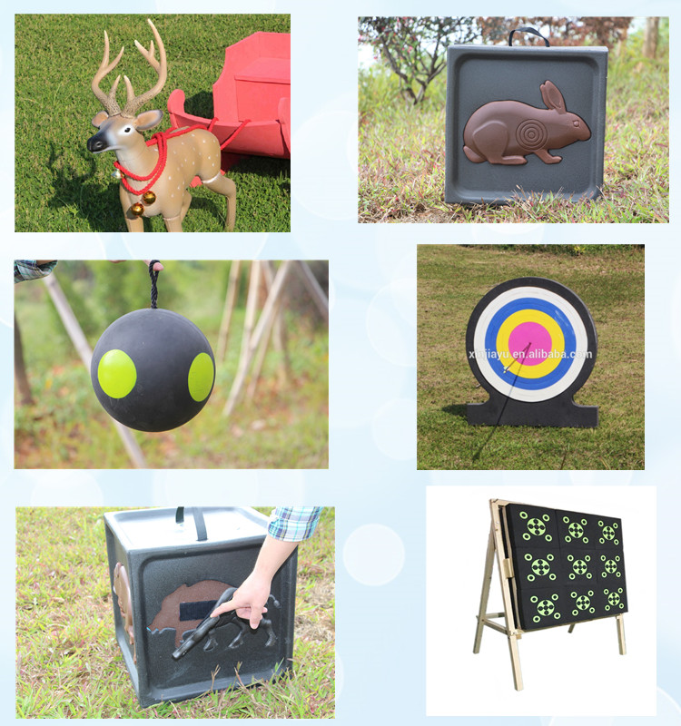 Outdoor party game oem logo archery shooting target OEM