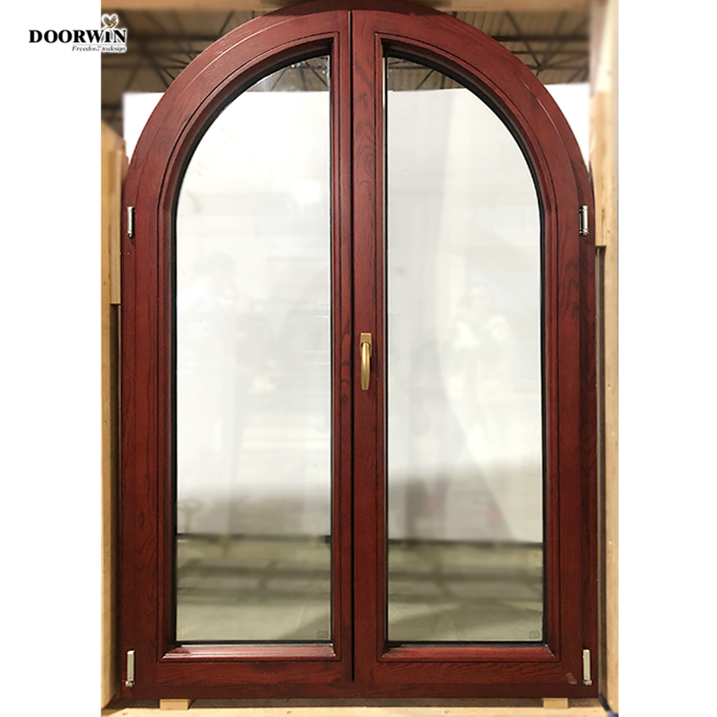 Customized safety door grill design round top exterior doors residential front entry