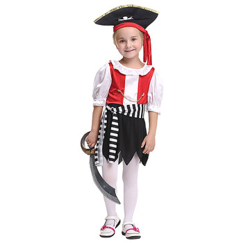 PoeticExst Pirate Halloween Cosplay Costume Children Clothes Anime Costume Costumes for Kids