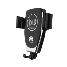 New Technology 2019 Phone Holder Car Air Vent Clip Cellphone Holder Smart Sensor Car Wireless Charger