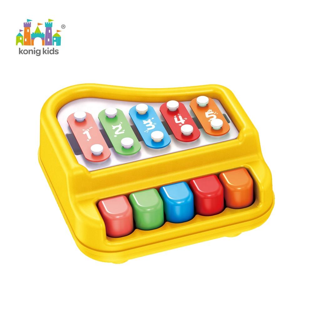 2020 Konig Kids Early Educationเครื่องดนตรีพลาสติกระนาดเปียโนออร์แกนของเล่น
