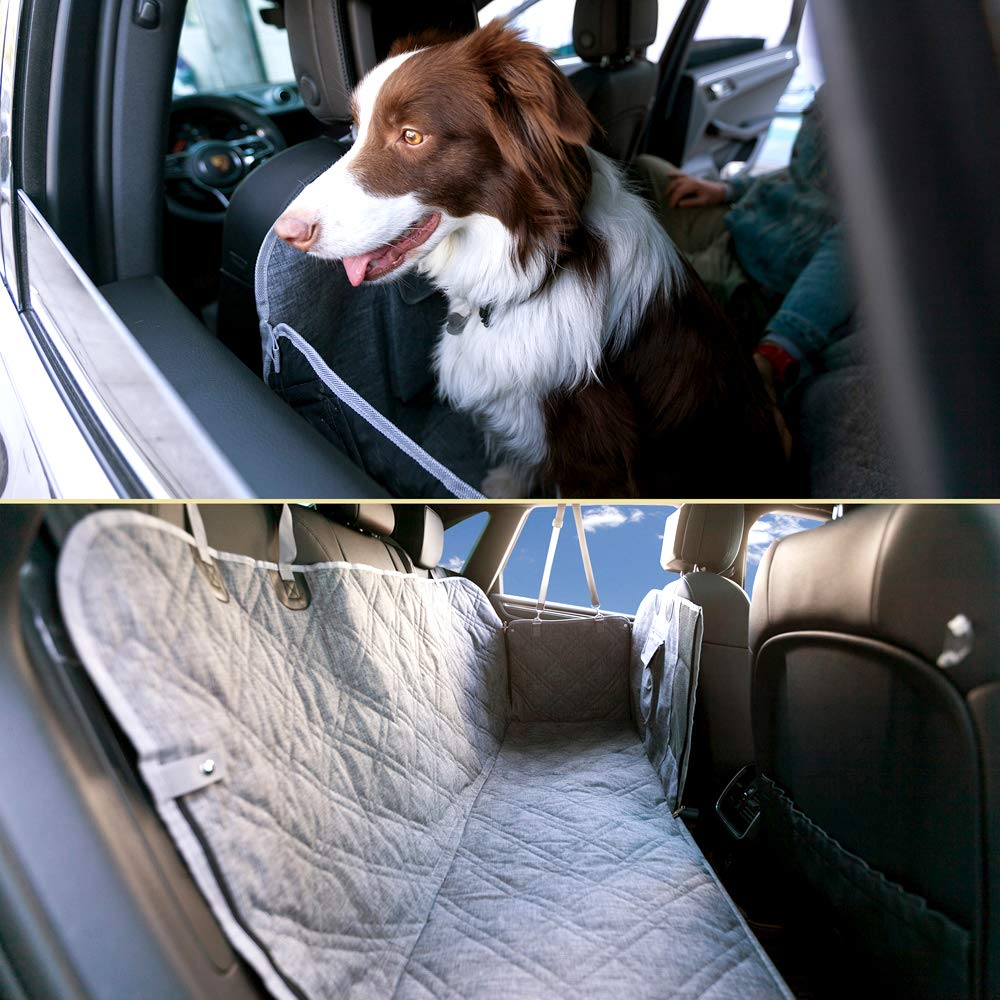 Osgoodway Customized Car Seat Back Protector Heavy Duty Oxford Pet Dog Car Seat Cover