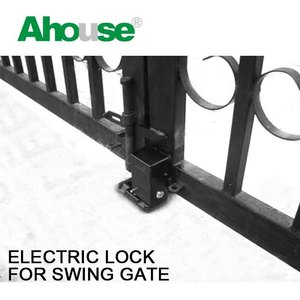 swing gate electric lock