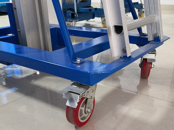 120kg Portable Warehouse Aluminum Ladder