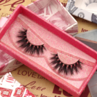 Cosmetic Eyelashes 25mm Mink Eyelash Cosmetic Makeup Vendor Cruelty Free Dramatic 3D 25mm Mink Eyelashes 5D Lashes Eyelashes 5 Pairs Free Samples False Eyelashes
