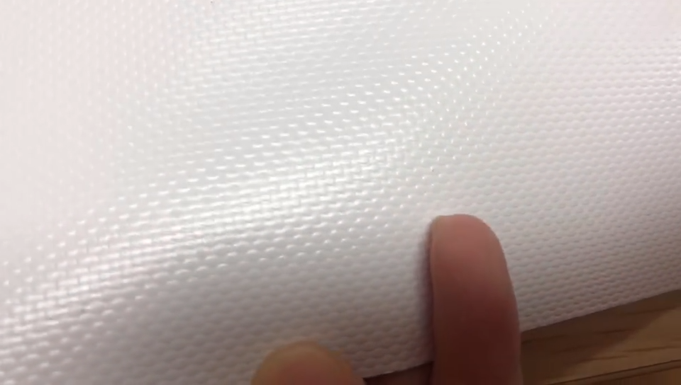 УФ-защита Водонепроницаемый белый тент грузовик виниловое покрытие полиэстер ПВХ брезент рулон ткани