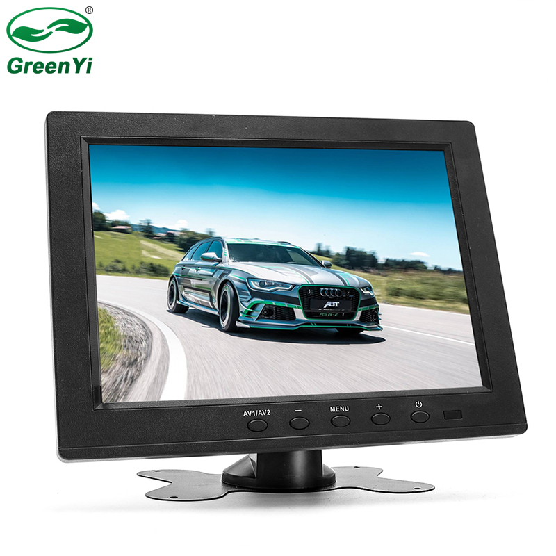 IP800 HD 1024*600 8 Pollici IPS Schermo Camion Bus Auto Monitor Del Veicolo Display Video Con USB HDMI VGA BNC AV-IN Spina Porta