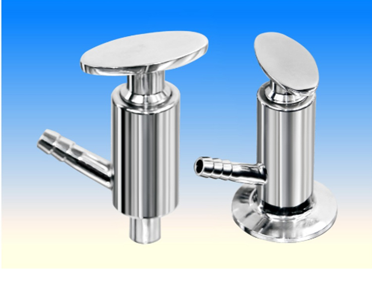 DONJOY Sanitary  stainless steel Male sampling valve with elliptic type handle