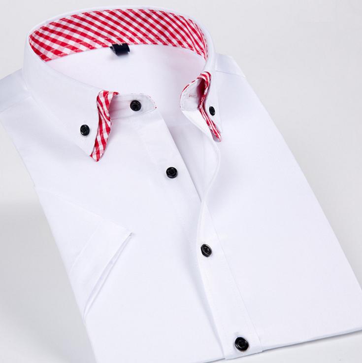 Hecho En China Doble Camisa De Cuello Encuentro Diseño
