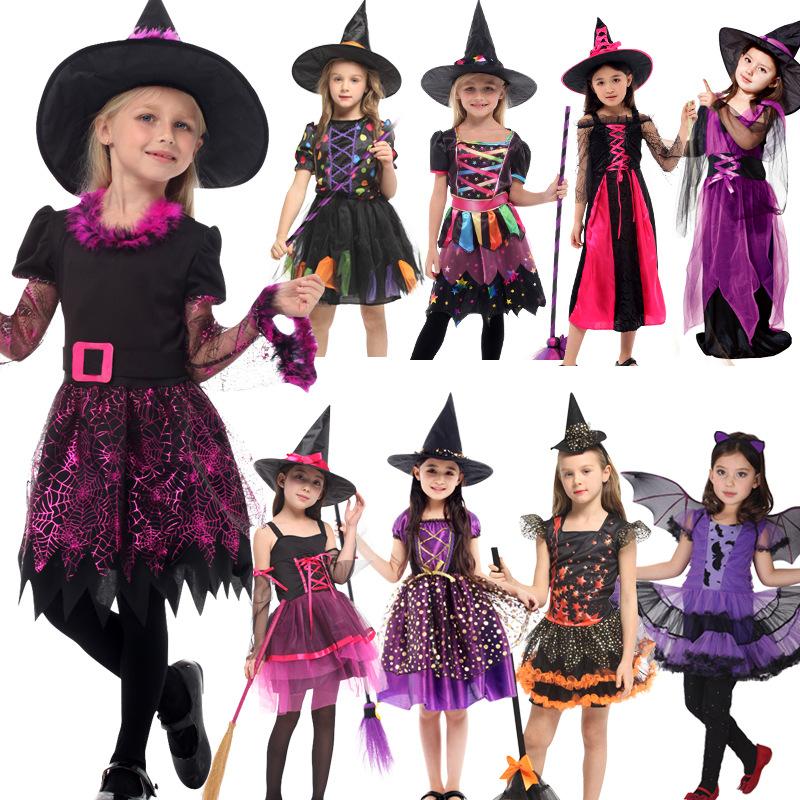 Top Quality Kids Fairy Devil Halloween Costume Girls Witch Costume Buy Girls Witch Costume Kids Devil Costume Kids Halloween Costume Product On Alibaba Com