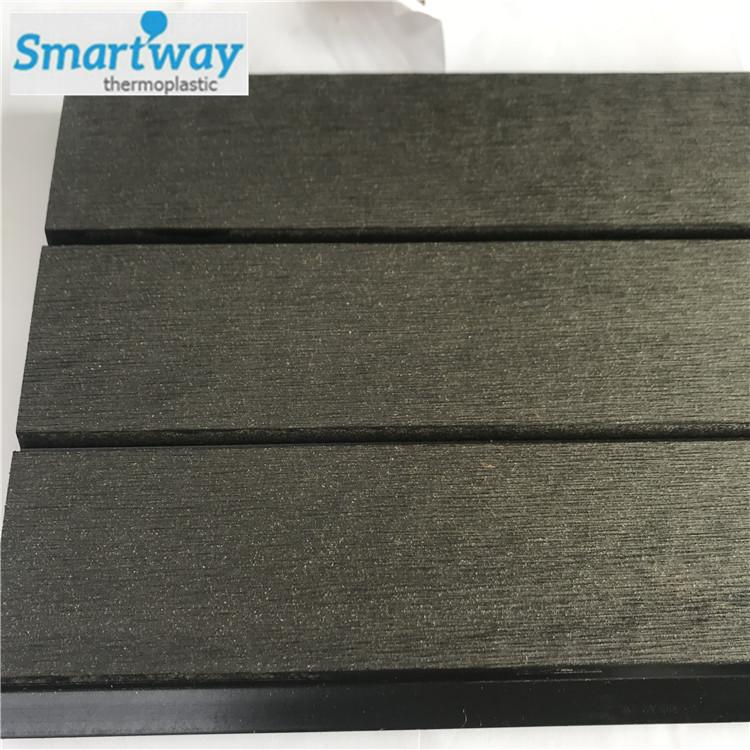 Low price waterproof laminate wood decking outdoor WPC composite flooring