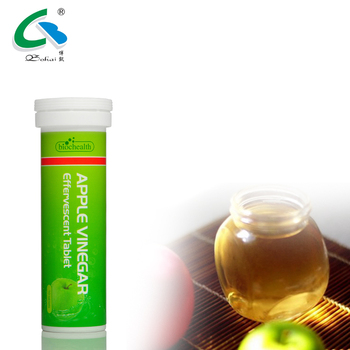 Hot selling products on Amazon apple vinegar effervescent tablets  apple vinegar drinks