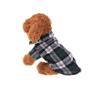 Pet Apparel Accessories Dog Clothes Coat Plaid British Style Winter Dog Clothes Shirt Jacket Dog Winter Coat
