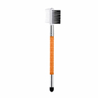 Bulk price double ended eyebrow brush dual with eyeshadow brush