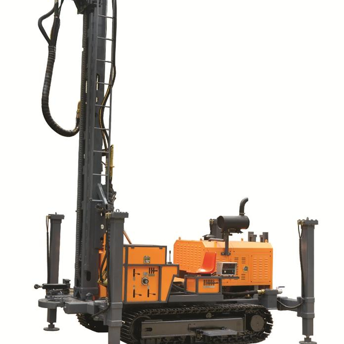 Kaishan KW400 Multifunctional Drill Rig ของ Geothermal Well,เจาะ rig,เจาะรถ