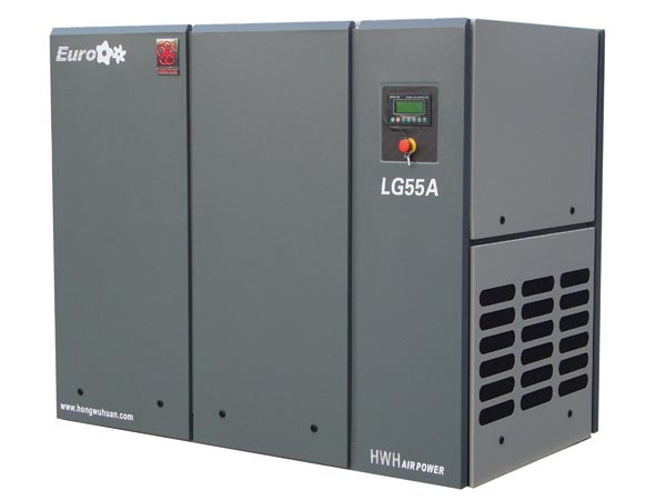 10bar oil injected rotary VSD screw air compressor with CE quality frequency inverter parts 50hp