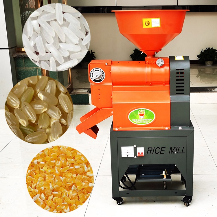 heli factory price mini small paddy rice mill milling husker rice whitening machine rice huller hulling machine on sale