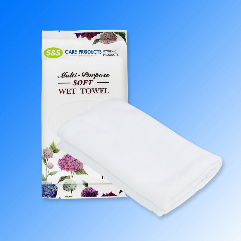 Individual Hotel Restaurant Custom Single Airlines Wet Single Towel