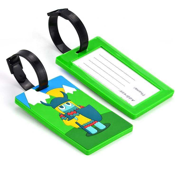 Багажная бирка для чемодана, сублимационная печать логотипа круиза, водонепроницаемая прозрачная акриловая бирка для багажа