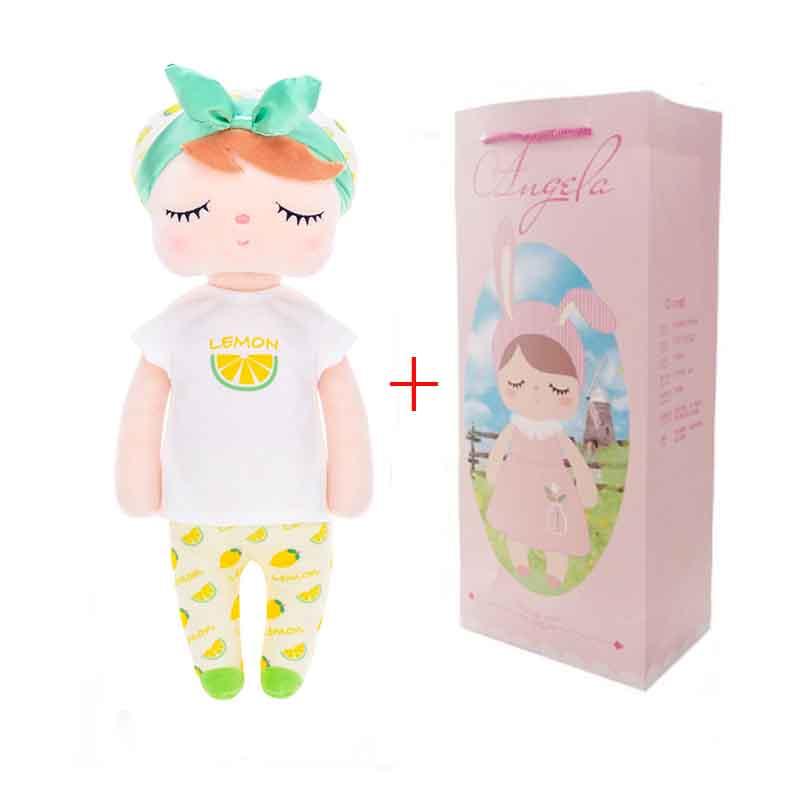 Милый мягкий плюшевый игрушки Metoo в коробке ангел кролик Серия животных плюшевые куклы для детей подарок на день рождения для девочек кукла ...(Китай)