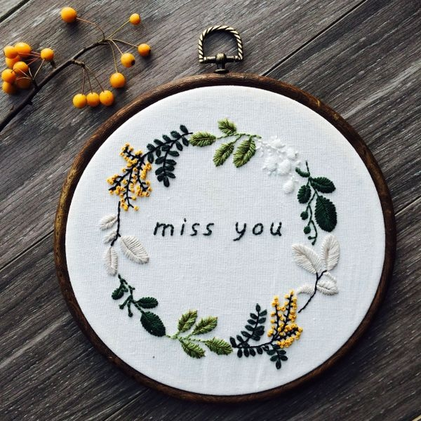 [Factory Direct Sales]High Quality Bamboo Embroidery Hoops Frame