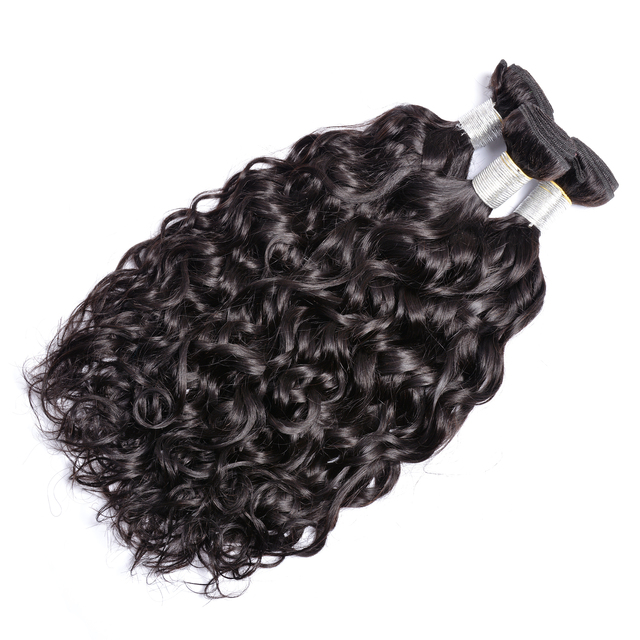 Indian Wet Wavy Hair Extension Indian Virgin Hair Water wave hair Weave