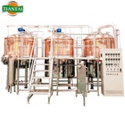 1000L turnkey red copper bar beer brewery equipment for sale