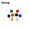 Colorful acrylic 8 sided custom printed dice for game