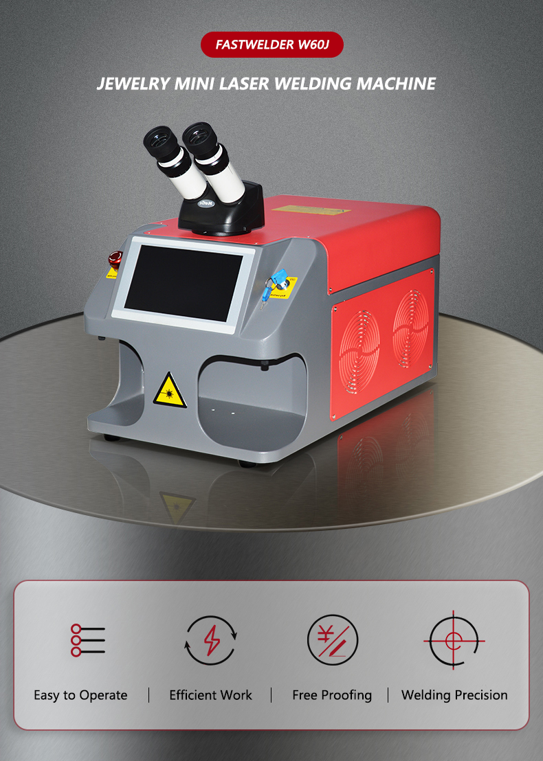 New Design Gold Portable Small Jewelry Laser Welding Machine in China Machinery