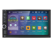 "Universal 2din android 9.0 4 + 64gb CPU IN dash auto gps tracking gerät navigation stereo/radio wifi 7 ""touchscreen mit bluetooth"